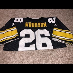 Pittsburg Steelers Woodson Jersey (REVERSIBLE)